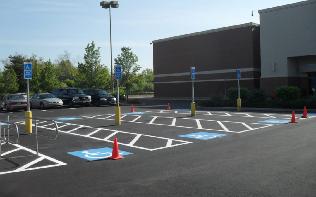 Asphalt Parking Lot Striping and Marking East Coast Parking Lot